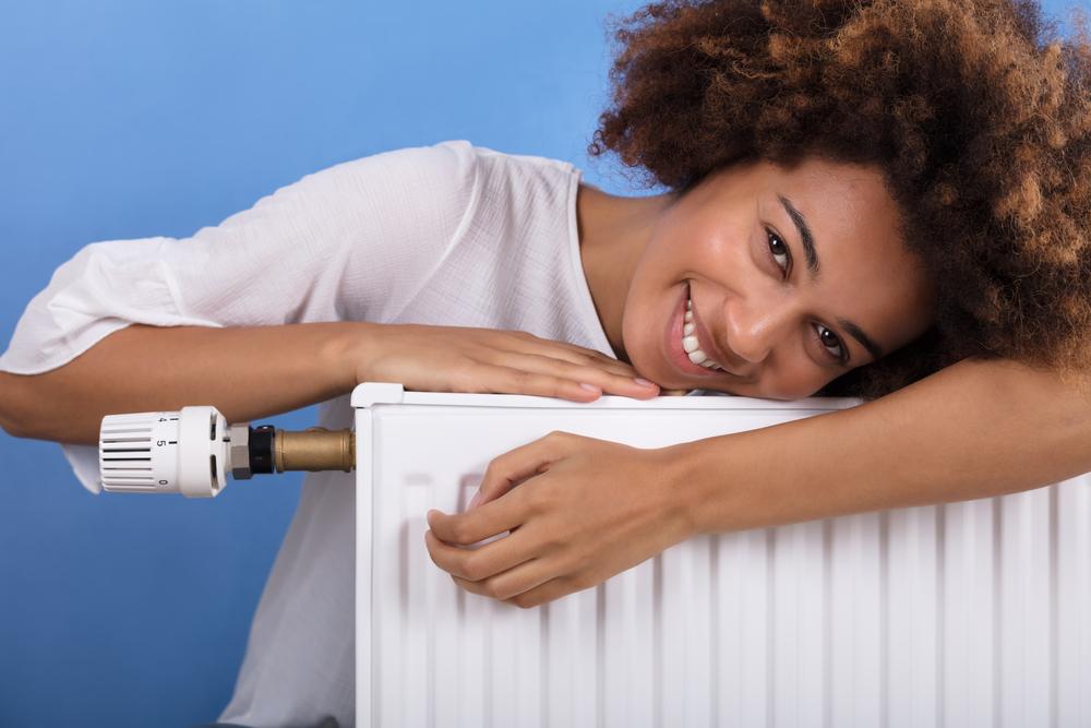 primer sistema de calefacción
