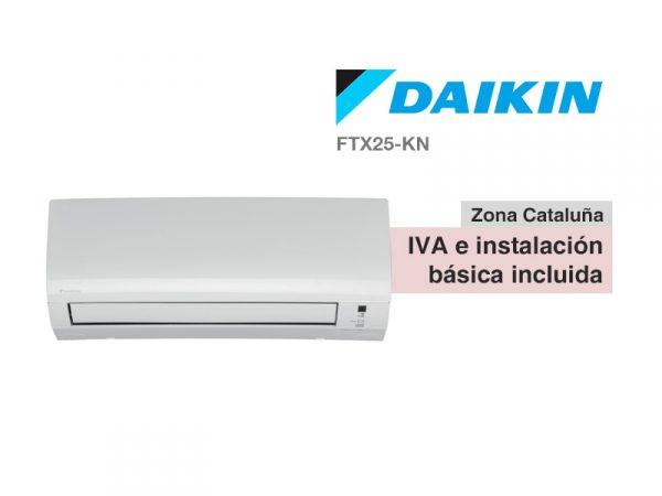 AIRE ACONDICIONADO DAIKIN FTX-25KN