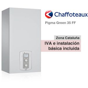 CHAFFOTEAUX PIGMA GREEN 35 FF A GAS NATURAL