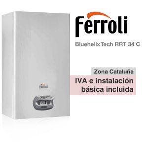 CALDERA FERROLI BLUEHELIX TECH RRT 34 C