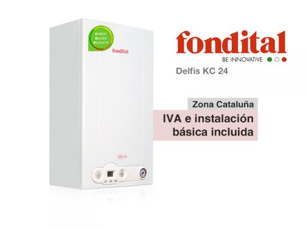 CALDERA FONDITAL DELFIS KC 24 A GAS NATURAL