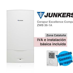 CALDERA JUNKERS CERAPUR EXCELLENCE COMPACT ZWB 25/36-1A