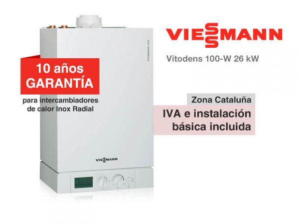 CALDERA VIESSMANN VITODENS 100-W 26 KW A GAS NATURAL