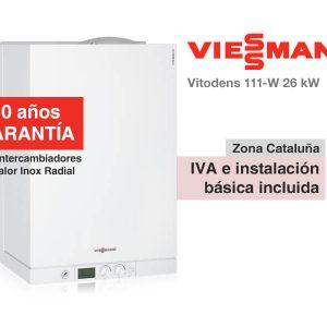 CALDERA VIESSMANN VITODENS 111-W 26 KW A GAS NATURAL