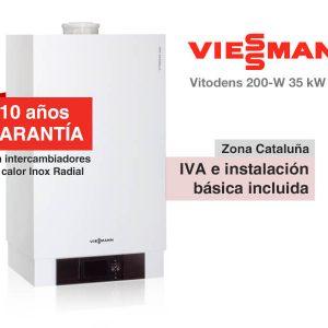 CALDERA VIESSMANN VITODENS 200-W 35 KW A GAS NATURAL