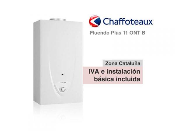 CALENTADOR CHAFFOTEAUX FLUENDO PLUS 11 ONT B A GAS NATURAL