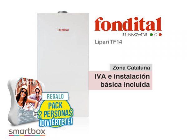 CALENTADOR FONDITAL LIPARI TF14 A GAS NATURAL