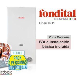 CALENTADOR FONDITAL LIPARI TN11 A GAS NATURAL