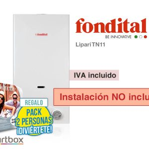 CALENTADOR FONDITAL LIPARI TN11 A GAS NATURAL (SIN INSTALACIÓN)