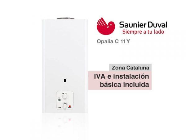 CALENTADOR SAUNIER DUVAL OPALIA C 11 Y A GAS NATURAL