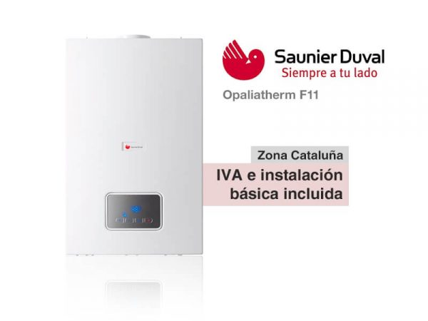 CALENTADOR SAUNIER DUVAL OPALIATHERM F11 A GAS NATURAL