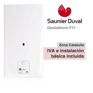 Calentador Saunier Duval Opaliatherm F17