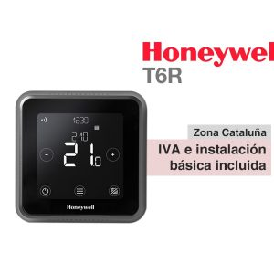 TERMOSTATO HONEYWELL LYRIC T6 INALÁMBRICO