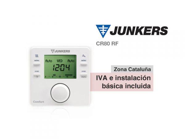 TERMOSTATO INALÁMBRICO JUNKERS CR80 RF