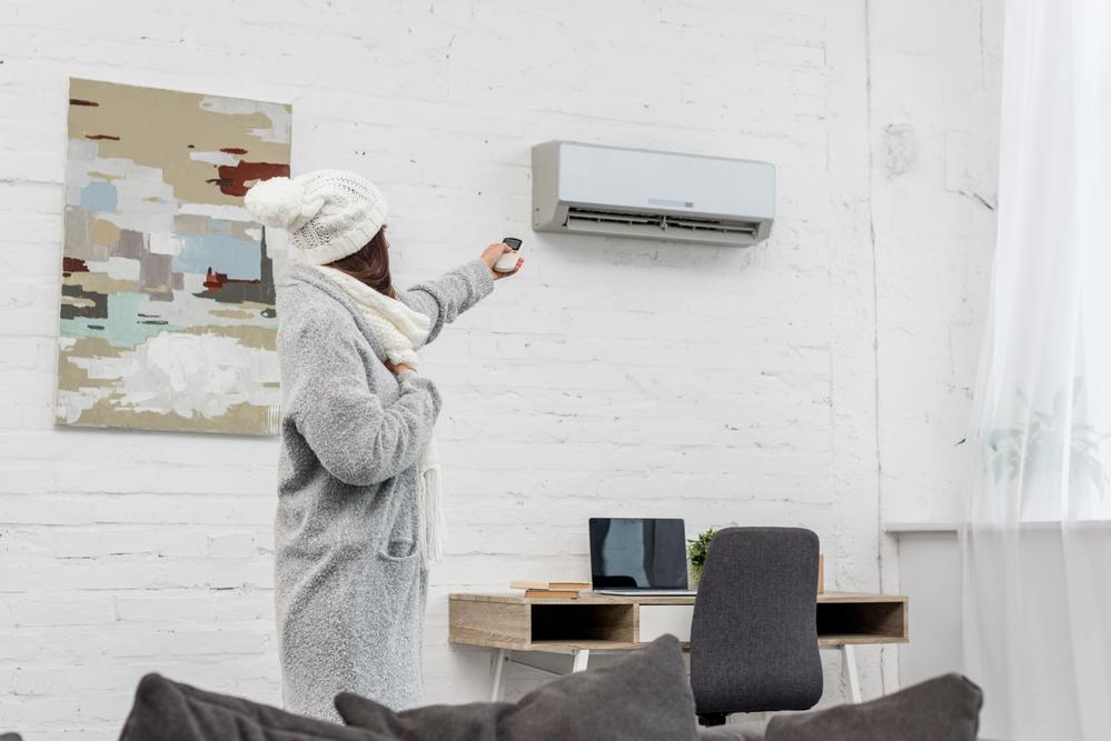 programar tu equipo de calefacción por aire
