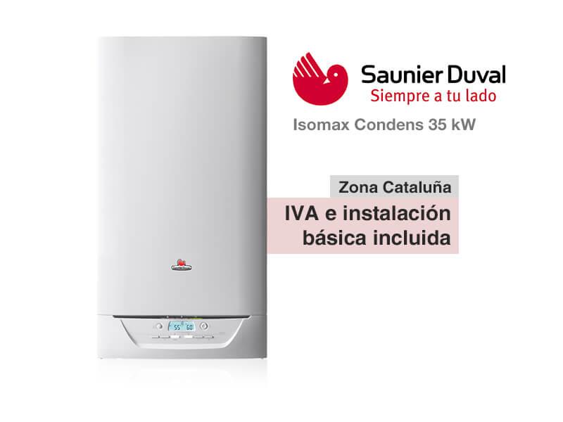 Caldera saunier duval isomax condens 35 kw a gas natural for Precio caldera saunier duval themafast condens f30