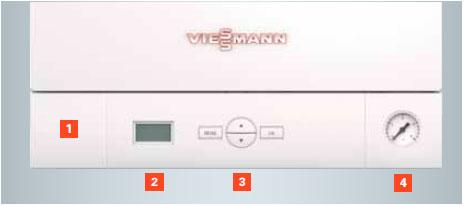 Display Caldera Viessmann Vitodens 050-W 24 kW a Gas Natural