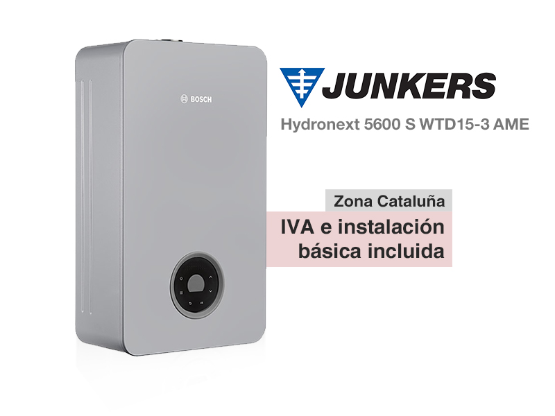 Calentador Junkers Hydronext 5600 S WtTD15-3 AME