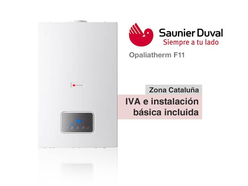 Calentador saunier duval opaliatherm f11 a gas natural - Instalacion calentador gas natural ...