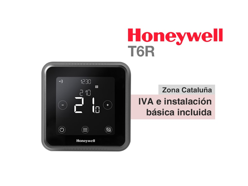 Termostato Honeywell Lyric T6R inalámbrico